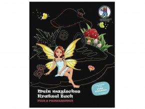 Ursus 2453/01 Kouzelná škrabací knížka Víly a princezny