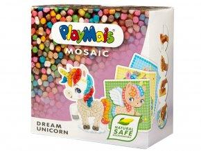 PlayMais 160562 - Mozaika Jednorožec 2 300 ks