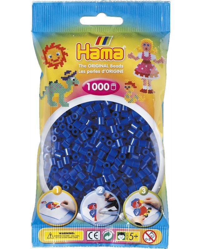 HAMA MIDI zažehlovací korálky modré - 1000 ks