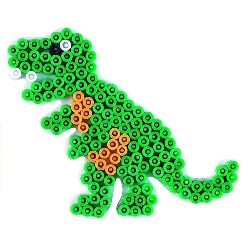 Podložka HAMA pro zažehlovací korálky MIDI - Dinosaurus