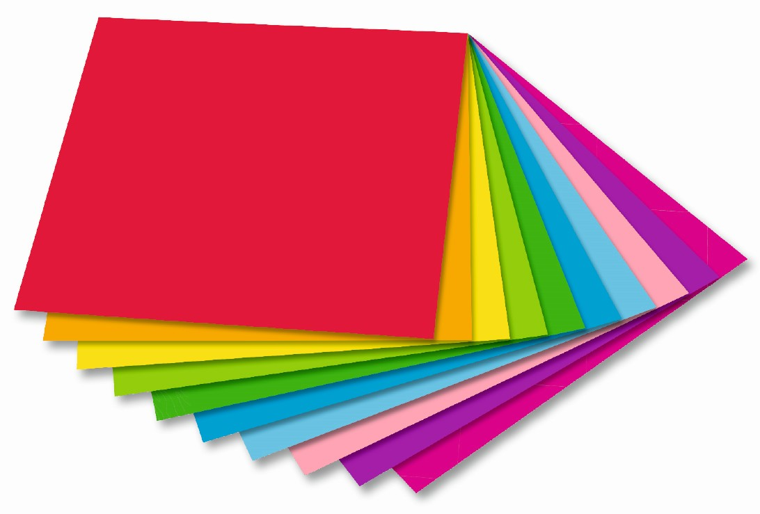 Origami papír DUO 80 g/m2 - 10 x 10 cm, 50 archů