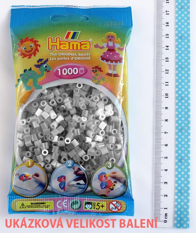 HAMA MIDI zažehlovací korálky Glitter mix - 1000 ks