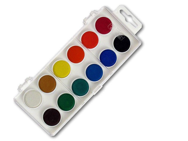 Barvy vodové Koh-i-noor 171510 - 12 barev