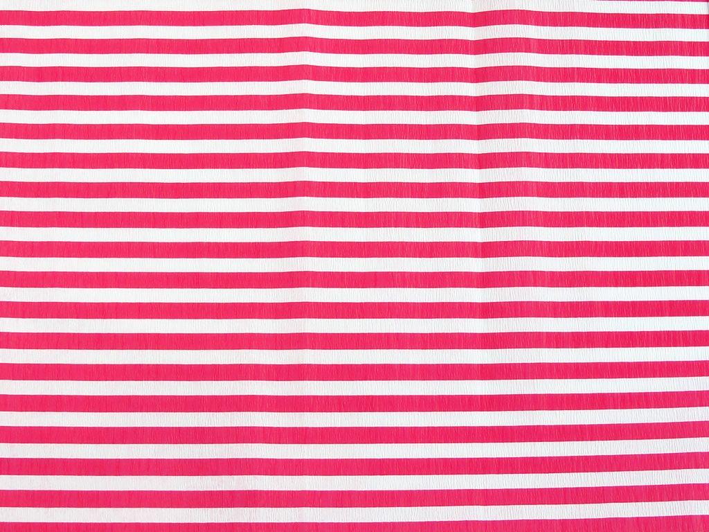 Koh-i-noor Krepový papír pruhovaný - 9755/65 - bílo-červený