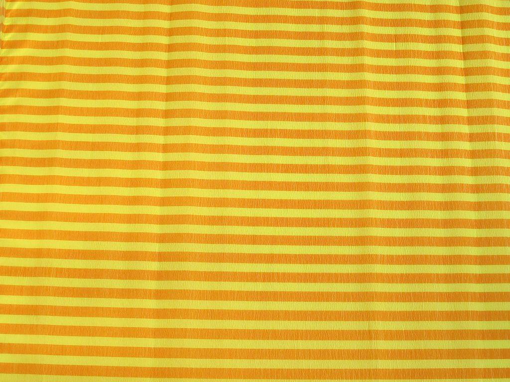 Krepový papír pruhovaný - 9755/67 - žluto-oranžový