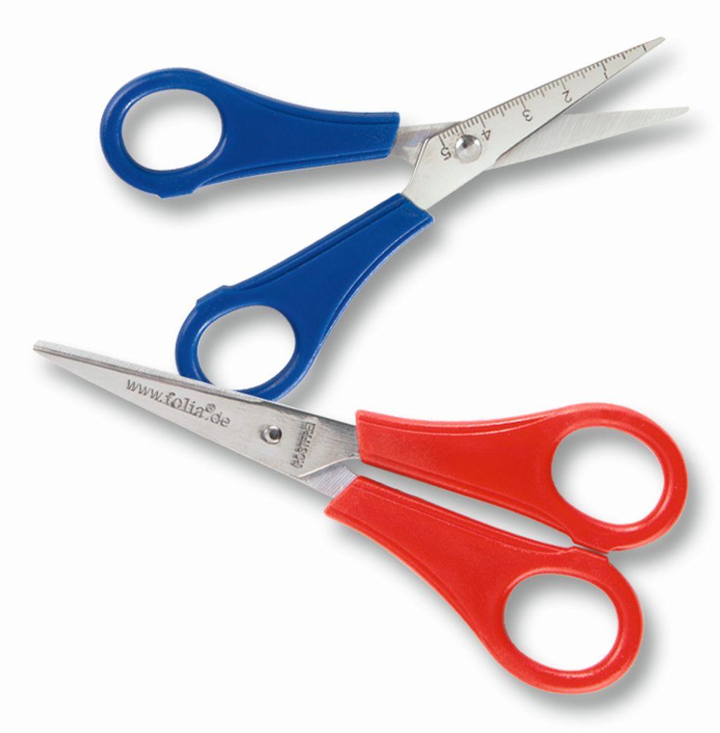 Nůžky dětské špičaté, pro praváky - 13,5 cm