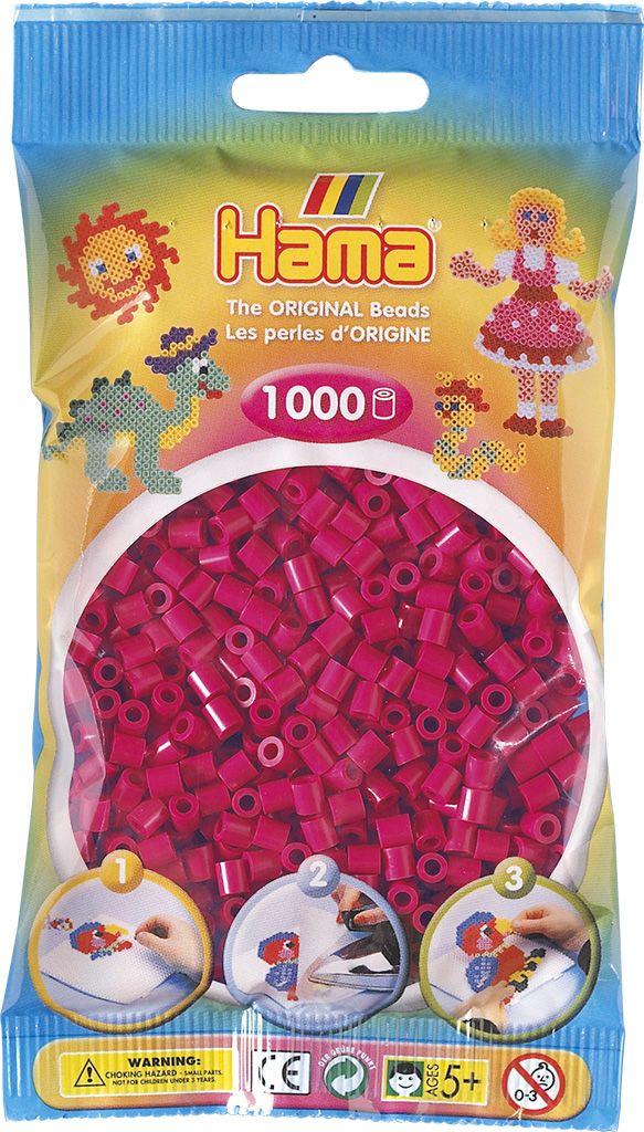 HAMA MIDI zažehlovací korálky vínové - 1000 ks