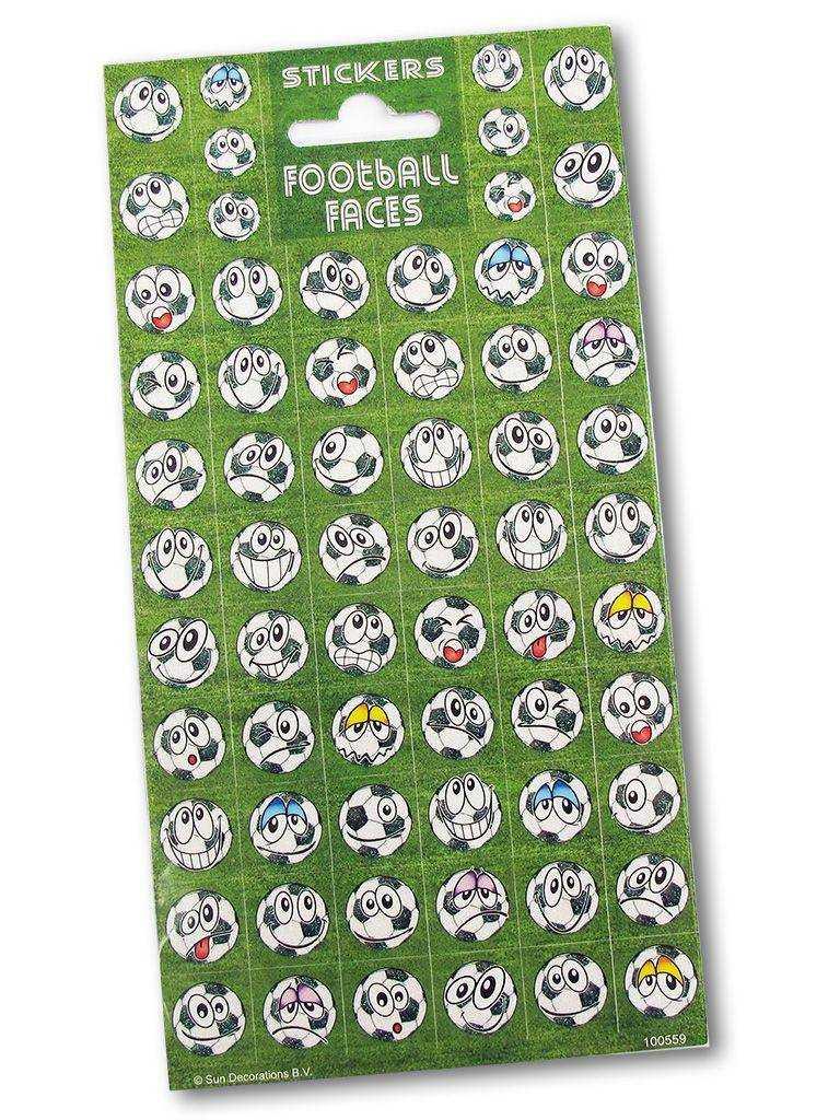 Dekorativní samolepky - 10 x 20 cm - fotbalové míče