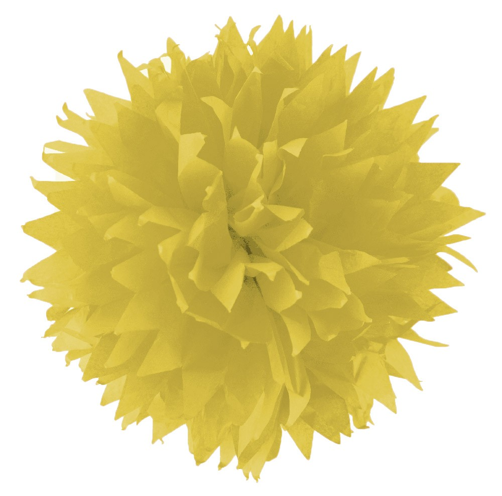 Folia - Max Bringmann Hedvábný papír 20 g/m2, 50 x 70 cm, 26 listů - CITRÓNOVÝ
