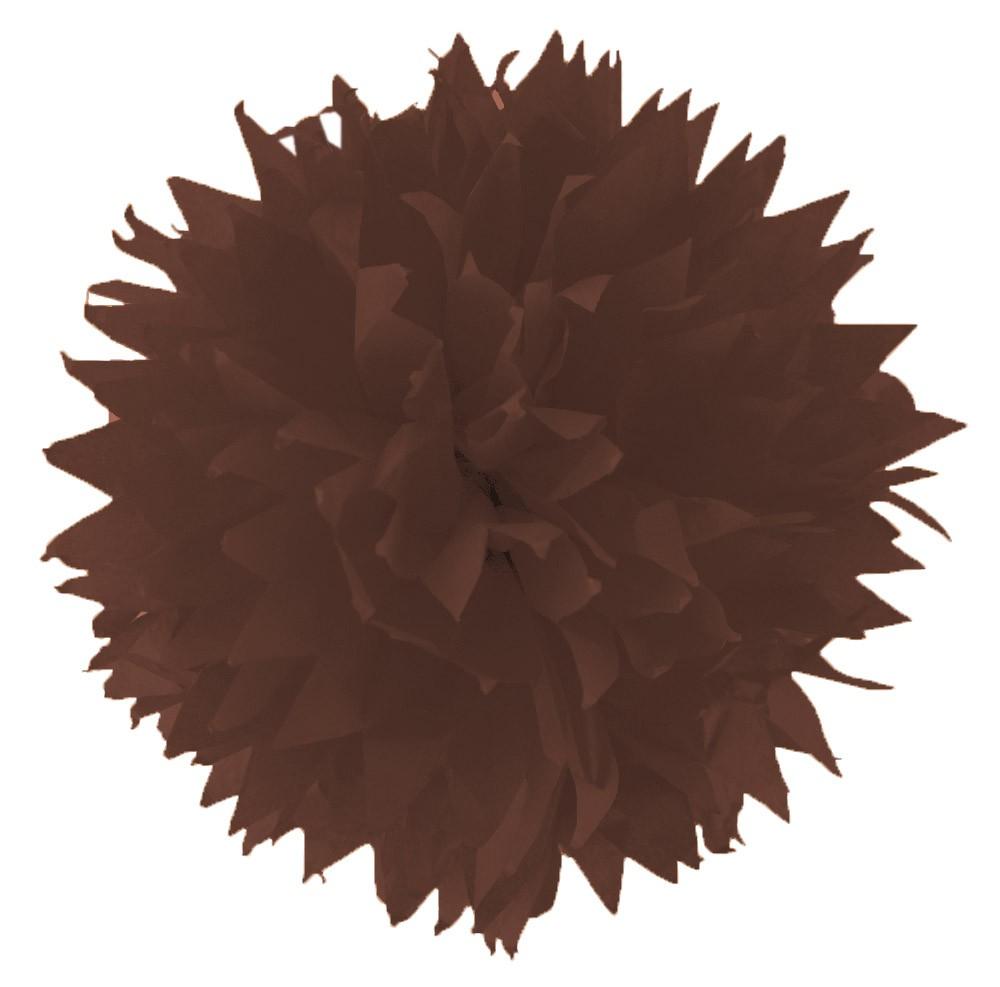 Folia - Max Bringmann Hedvábný papír 20 g/m2, 50 x 70 cm, 26 listů - HNĚDÝ