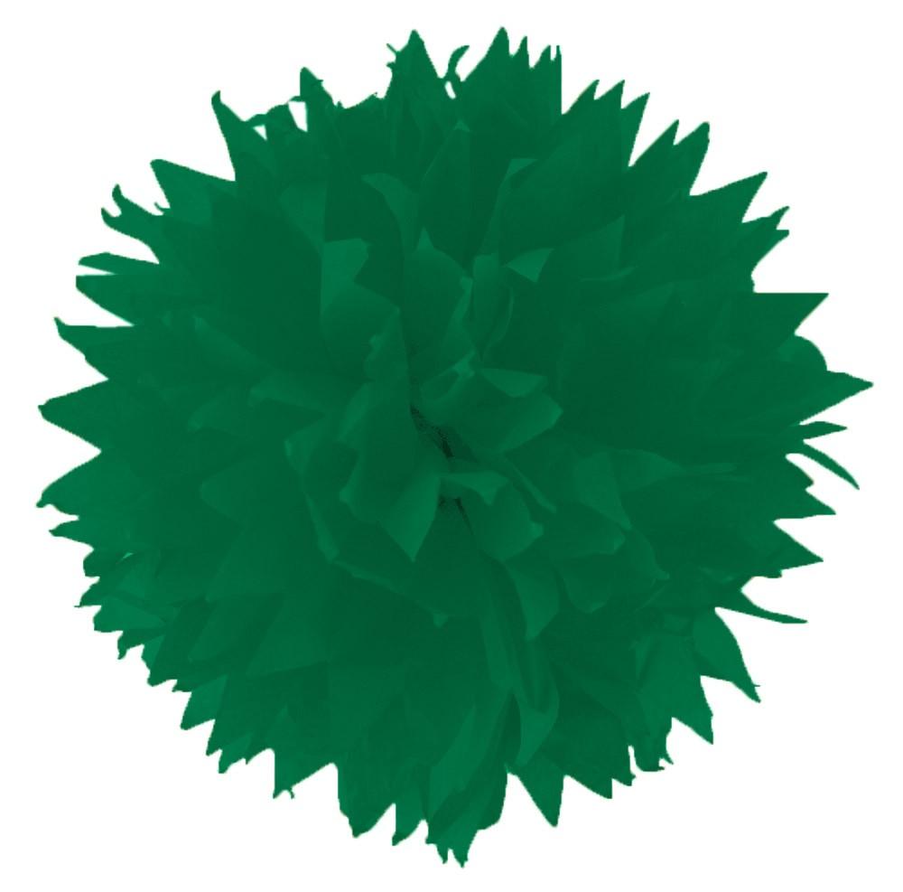 Folia - Max Bringmann Hedvábný papír 20 g/m2, 50 x 70 cm, 26 listů - TMAVĚ ZELENÝ