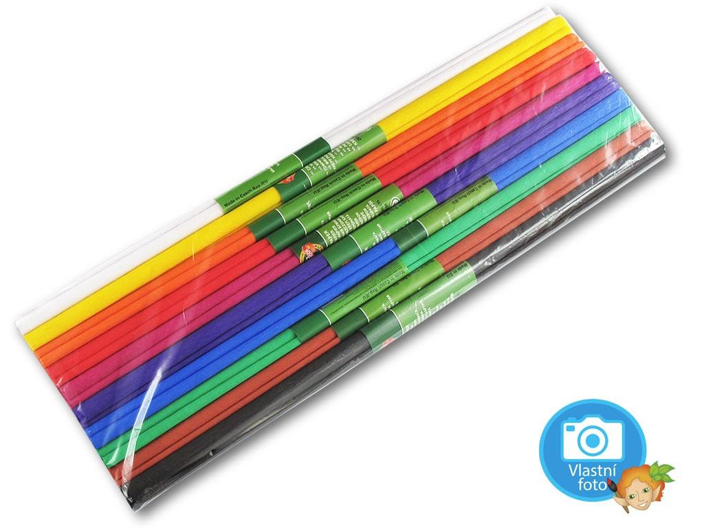 Koh-i-noor Sada krepových papírů - 9755/37 - MIX BAREV