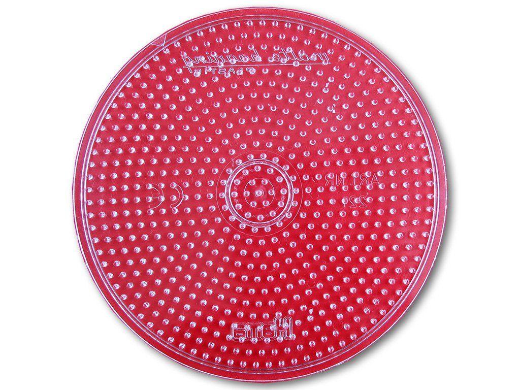 Podložka HAMA pro zažehlovací korálky MIDI - velké kolečko