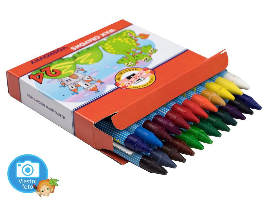 Voskovky Koh-i-noor 8234 - 24 barev