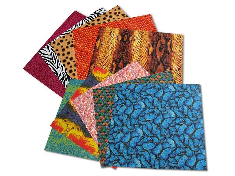 Fotografie Folia - Max Bringmann Origami papír Zvířecí svět 80 g/m2 - 15 x 15 cm, 50 archů