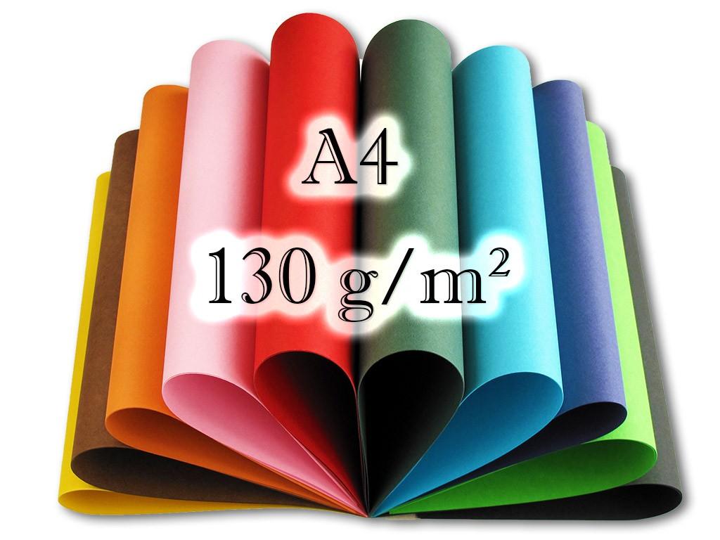 Koh-i-noor Blok barevných papírů - A4 20 listů - 130 g/m2