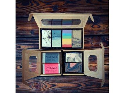 Dárková krabička s oknem
