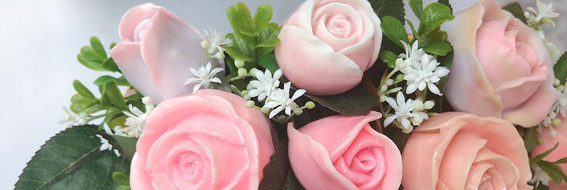 mýdlové růžičky