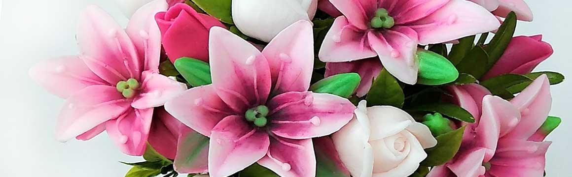 Mýdlová kytice Lilie