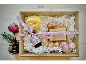 Darčekové balenie - mydlo, šampuk, mydlovnička