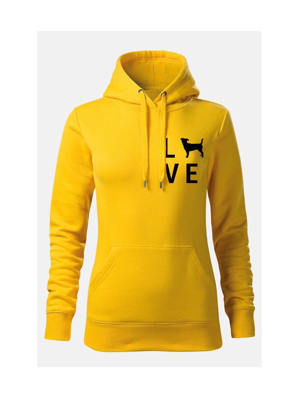 Mikiny LovePlemeno ona žlutá