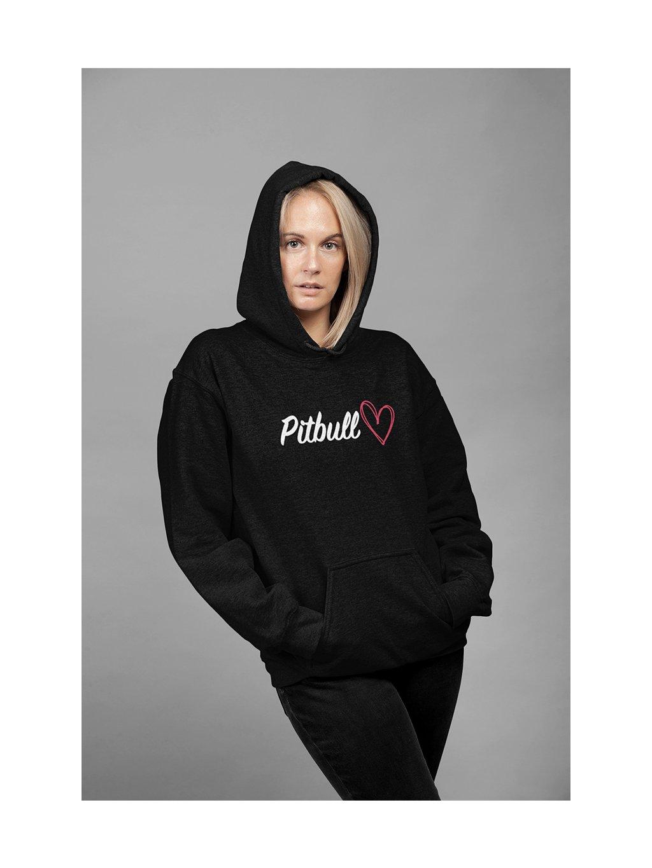 nápis srdce pitbull 1