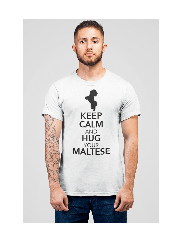 Keep calm bílé 1