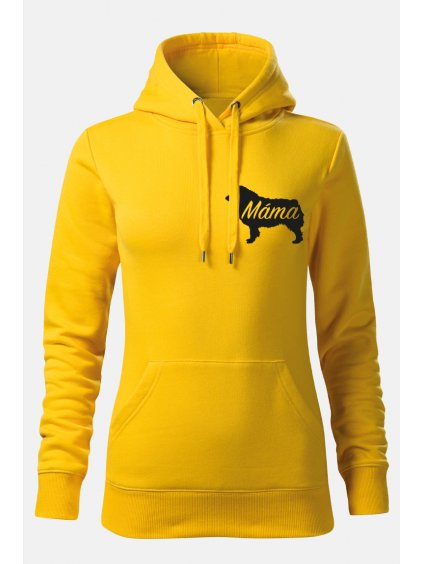Mikiny MaláMáma ona žlutá