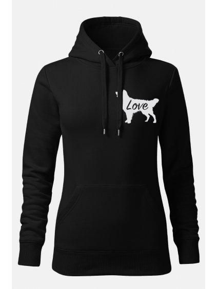 Mikiny Love ona černá