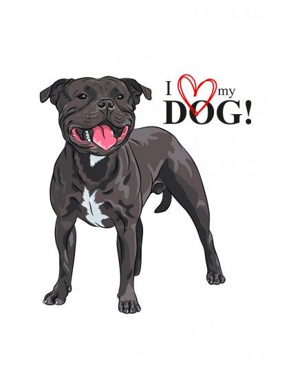 Produktové foto Stafík pes