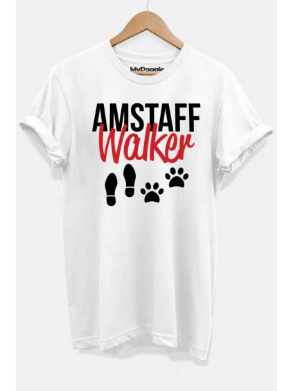 Amstaff walker bílá D