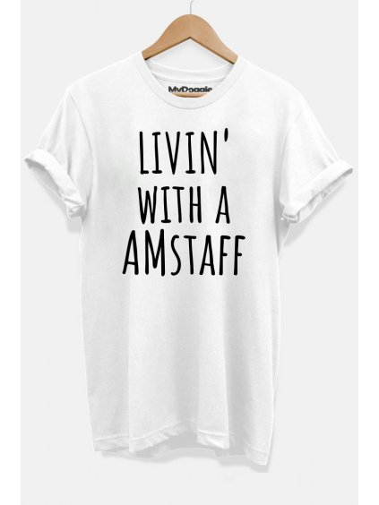 Amstaff livin bílá DP