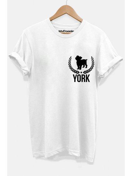 York listecky bílá P