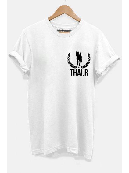 ThaiR lístečky bílá P