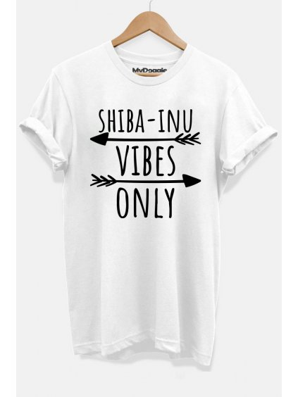 Shiba vibes bílá D