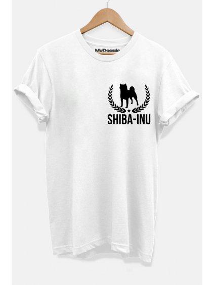 Shiba lístečky bílá P