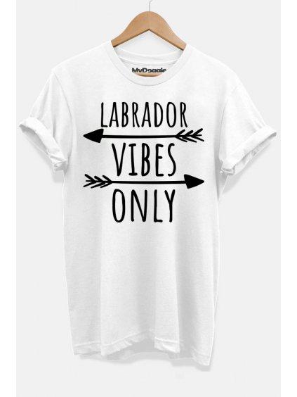 Labrador vibes bílá D