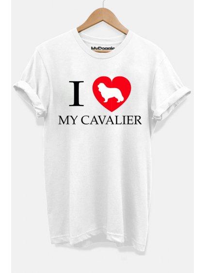 Kavalír I love bílá DP