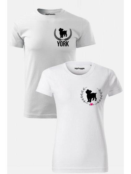 York par Kruh Listy bílá