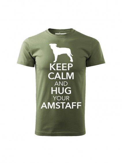 1284 5 keep calm khaki amstaff