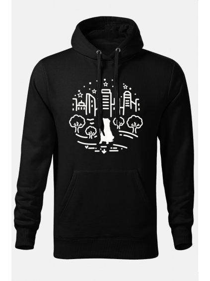 Mikiny Město on černá