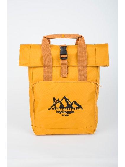 Hory přední strana žlutý