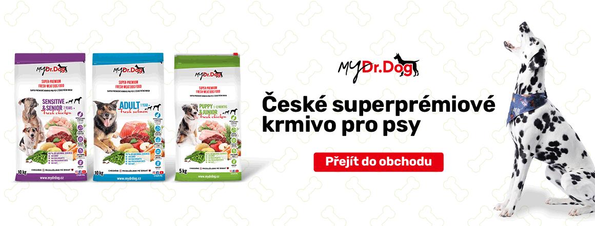 České superprémiové krmivo pro psy