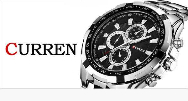 Curren elegantné hodinky