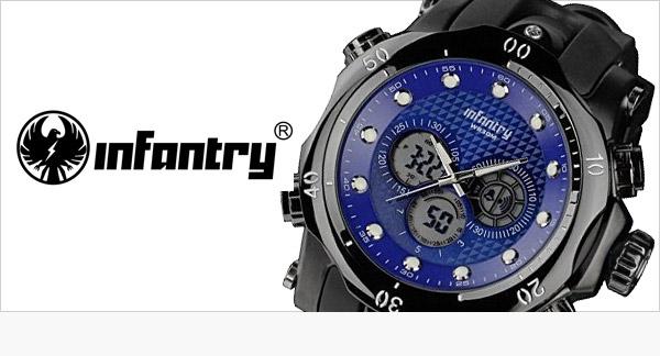 Infantry pánske army hodinky