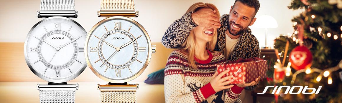Dámske hodinky Sinobi, vianočný darček pre ženu