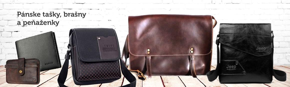 Pánske peňaženky, tašky a brašny