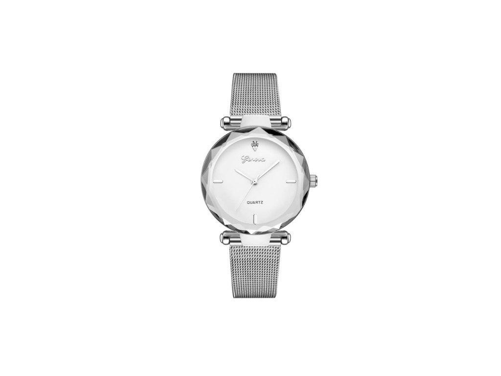 53f37bae4 Dámske hodinky Zn. Geneva - strieborné - myElegans.sk