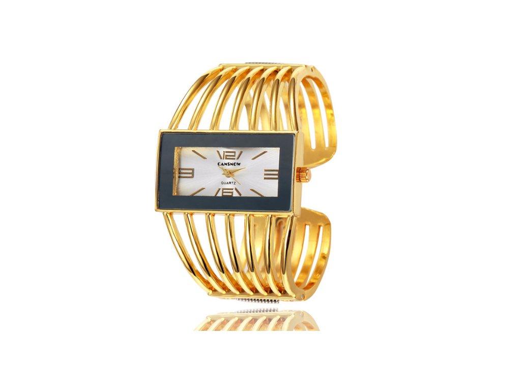 b6fe0ff14 Atraktívne módne dámske hodinky Cansnow zlaté