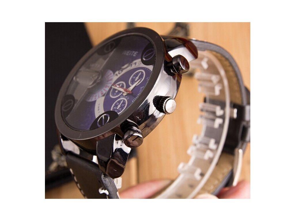 ... Módne hodinky s veľkým modrým ciferníkom ... 84881b33138
